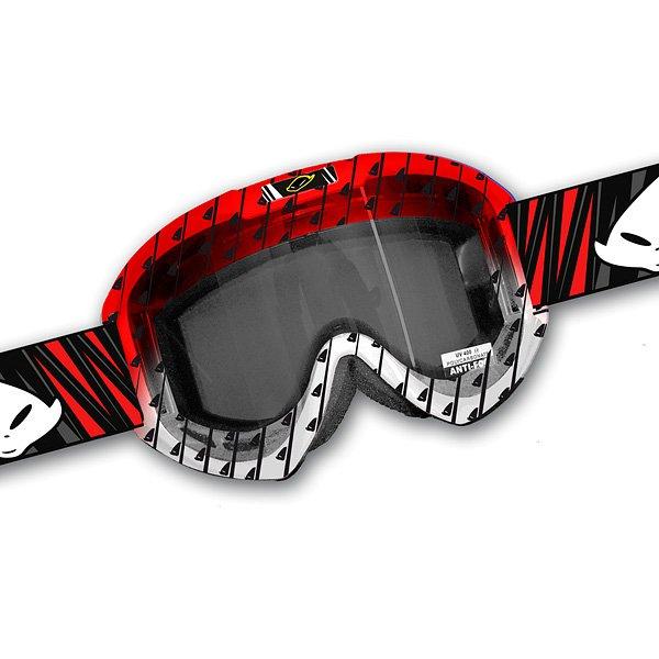 Ufo Plast Fusion Evolution cross goggles Red White