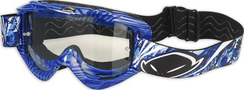 Occhiali moto cross Ufo Plast Nazca Evolution 2 blu