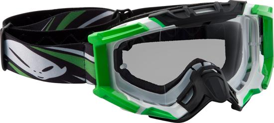 Occhiali moto cross Ufo Plast Mixage blu