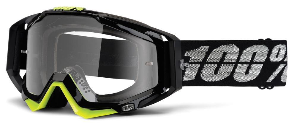 Occhiali cross 100% Racecraft STEALTH lente chiara
