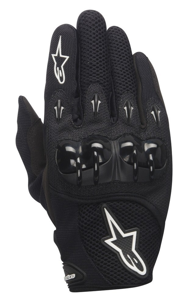 Guanti cross Alpinestars Octane Hard Knuckle neri