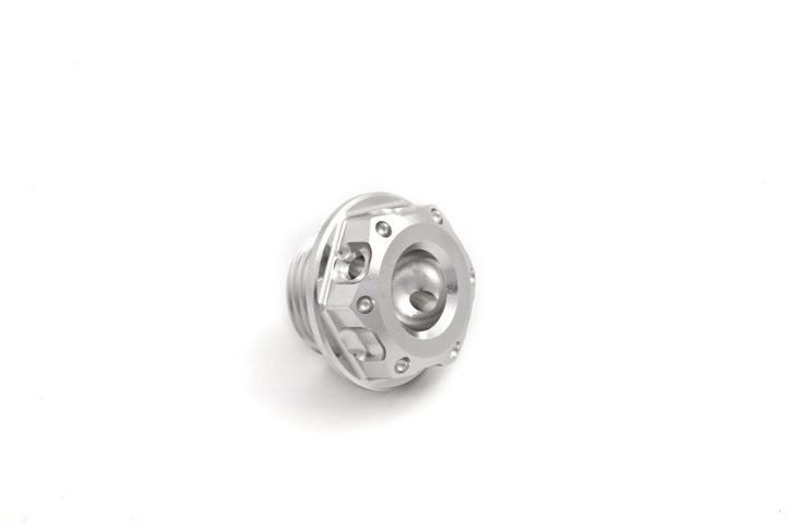Oil cap Evotech Aprilia V4 Silver