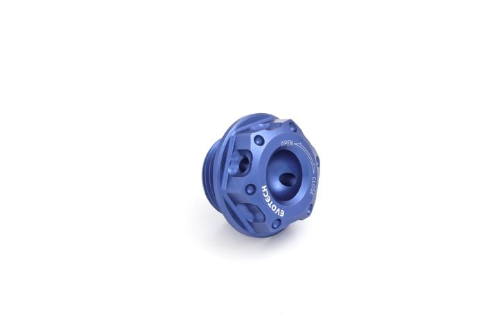 Oil cap Evotech Aprilia V4 Blue