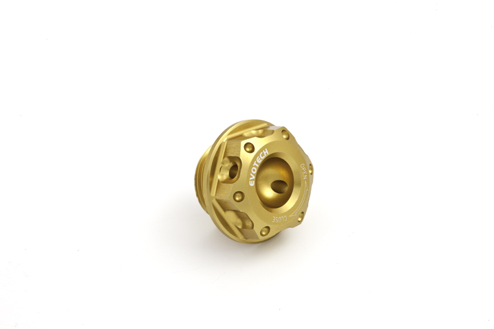 Oil cap Evotech Aprilia V4 Gold