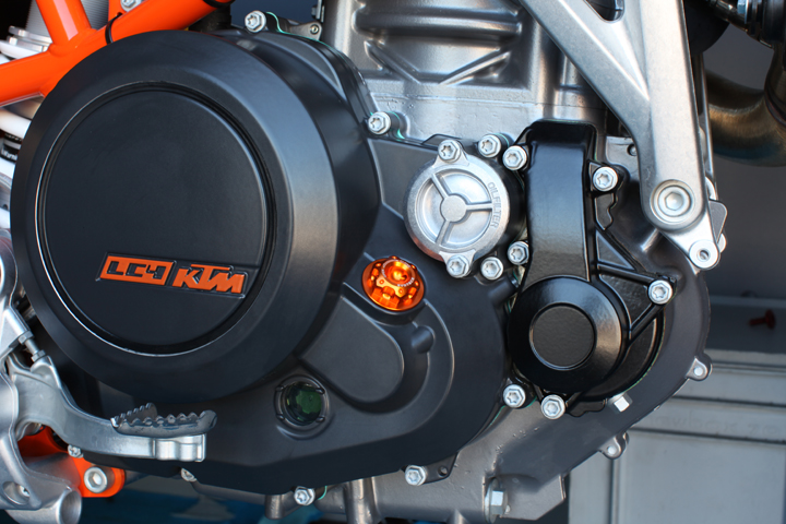 Evotech Oil Filler KTM Black