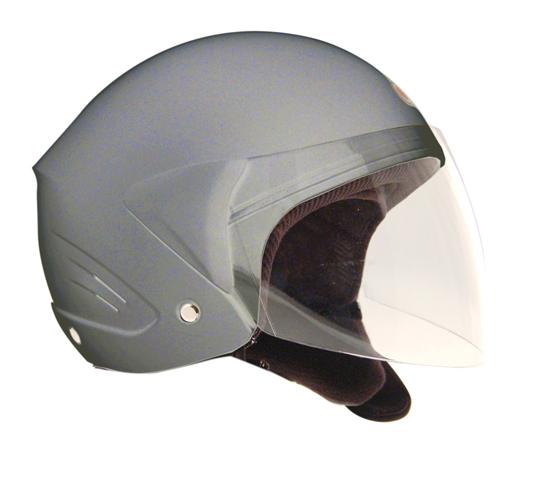One MICRO EVO jet helmet Silver