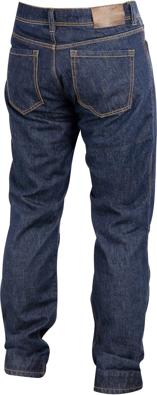 Pantaloni Denim Alpinestars Outcast Tech rinsed indigo
