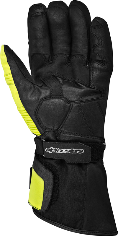Alpinestars Overland Drystar 2013 gloves black-dark grey-yellow