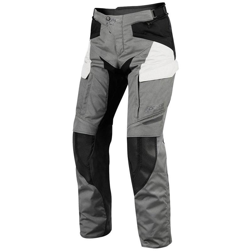 Pantaloni moto Alpinestars Durban Gore-tex grigio nero
