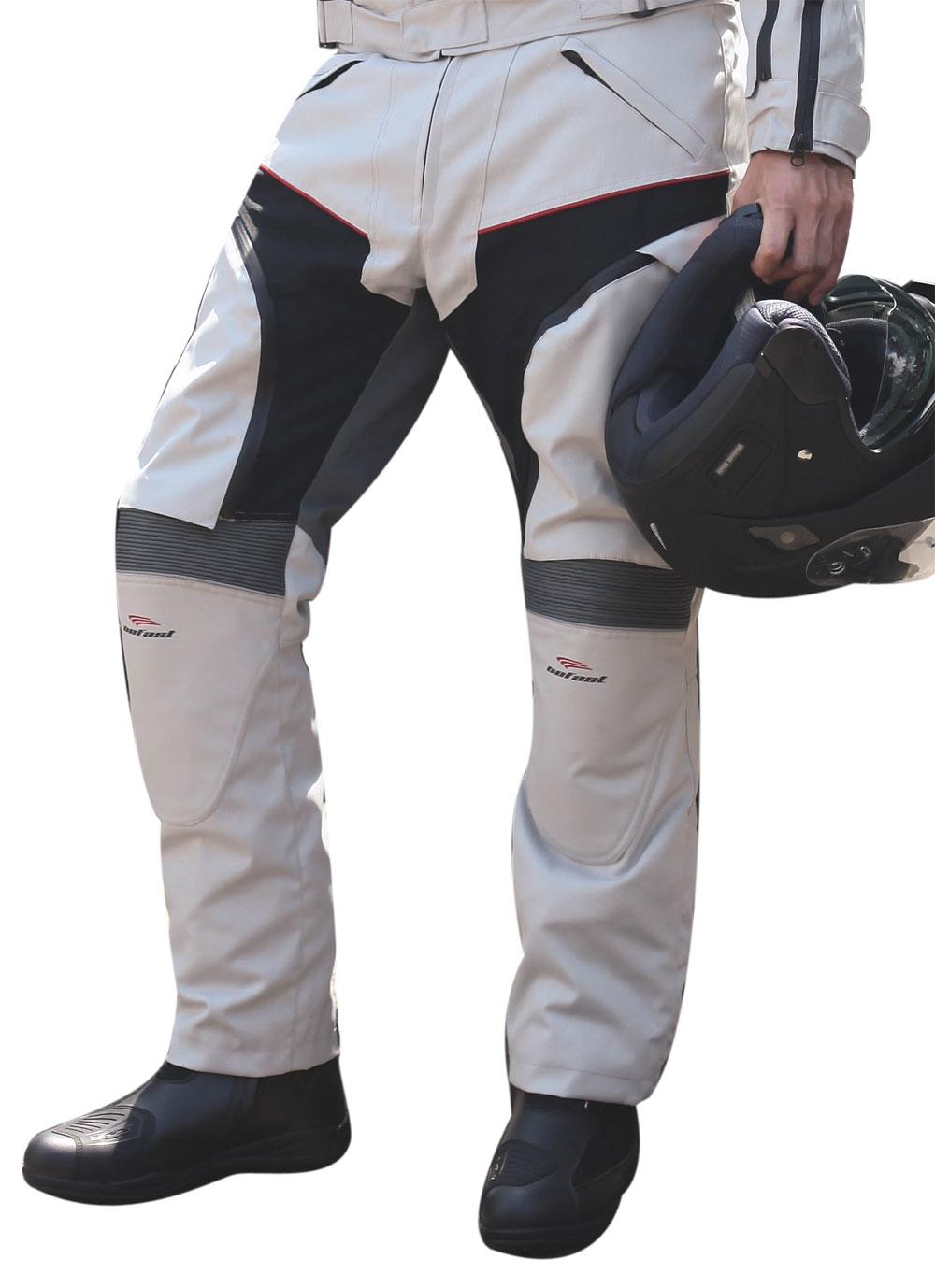 Pantaloni moto Befast Multiforce con Air System Grigio