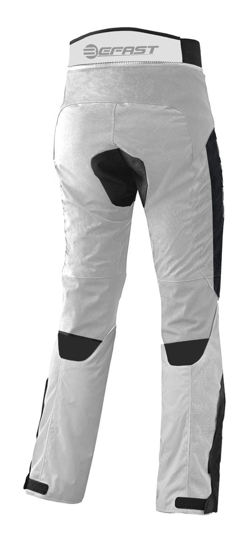Pantaloni moto donna touring Befast Delta Grigio