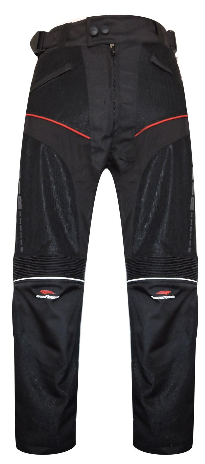 Pantaloni moto estivi Befast Sirio Nero