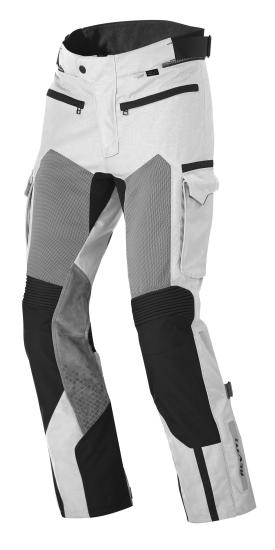 Pantaloni moto Rev'it Cayenne Pro Grigio chiaro Nero Allungato