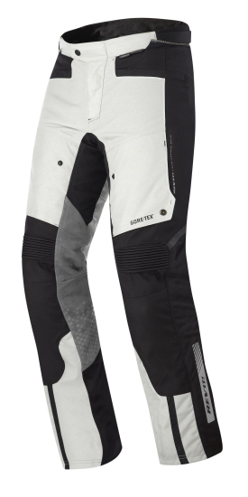 Pantaloni moto Rev'it Defender Pro GTX Grigio Nero Accorciato