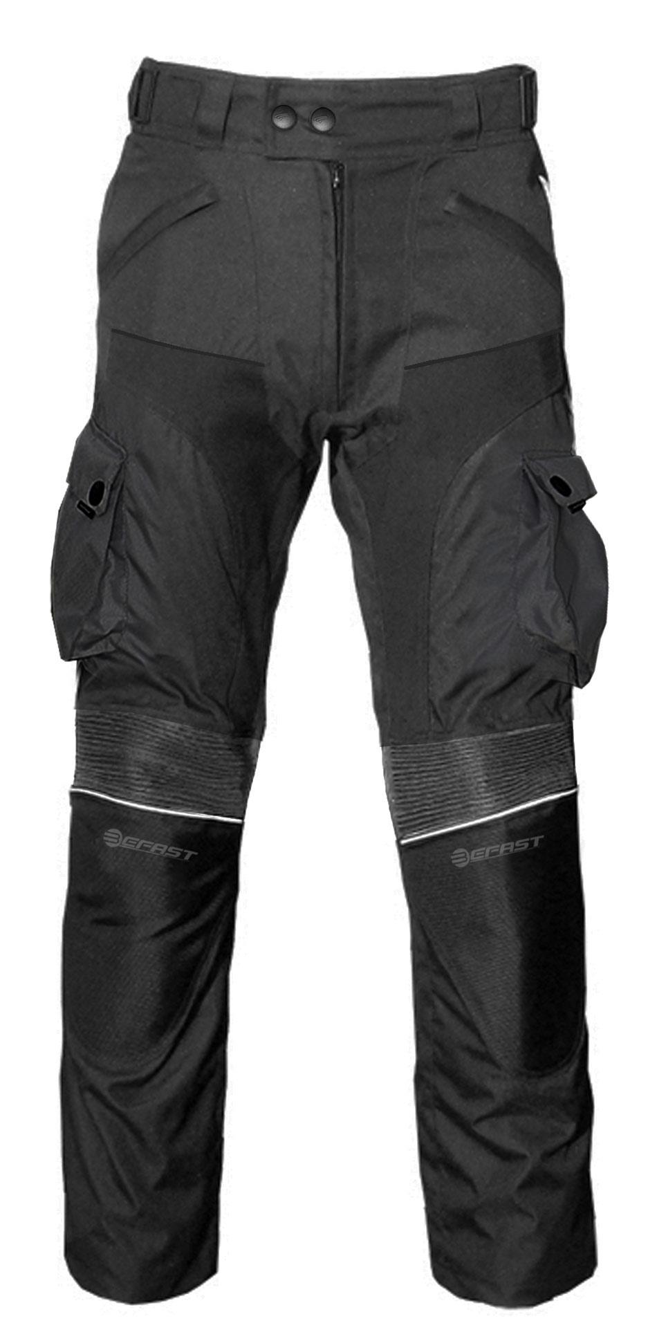 Pantaloni moto touring Befast Four Climath EVO 4 stagioni Nero
