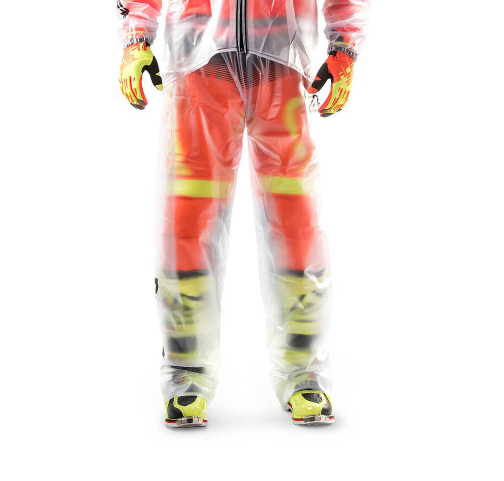 Pantaloni antiacqua Acerbis Rain Clear 3.0 Trasparente