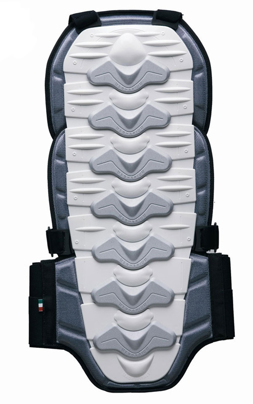 BACK PROTECTOR ZERO7 certified White