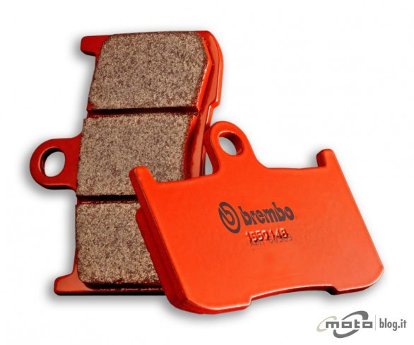 Brake Pads Brembo sintered street 2 couple for 1 disk