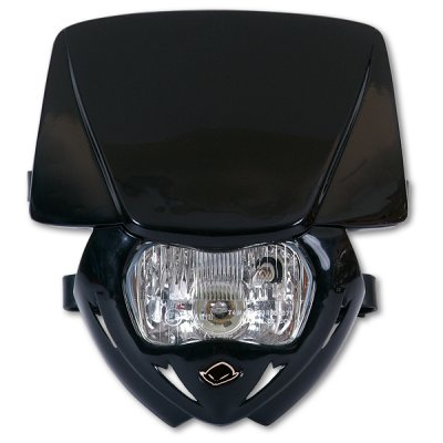 Portafaro monocolore UFO Panther Nero