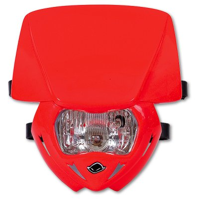 Headlight monochrome UFO Panther Red