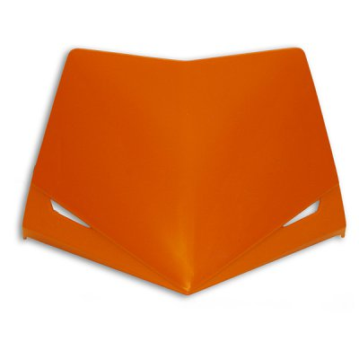 Ufo replacement plastic Stealth headlight - upper part - Orange