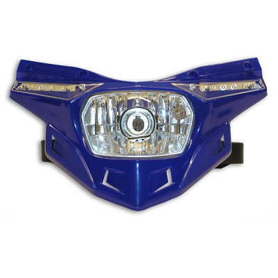 Ufo replacement plastic Stealth headlight - lower part - Blue