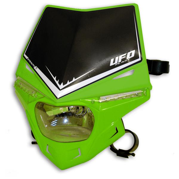 Ufo Plast Stealth headlight single-colour green