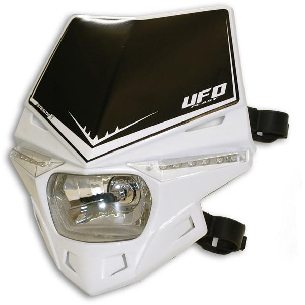 Ufo Plast Stealth headlight single-colour white