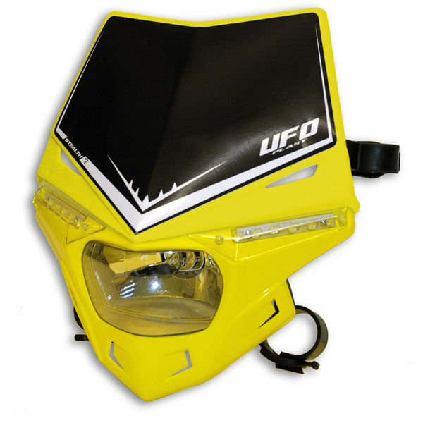 Ufo Plast Stealth headlight single-colour yellow