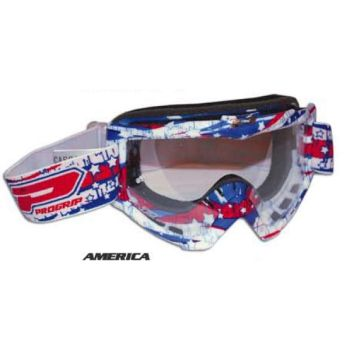 Progrip 3303 cross goggles graphic line America