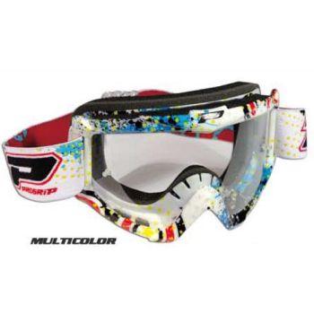 Progrip 3303 cross goggles graphic line Multicolor