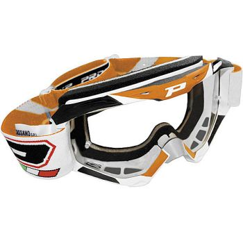 Progrip 3450 stealth off road double lens goggles Orange