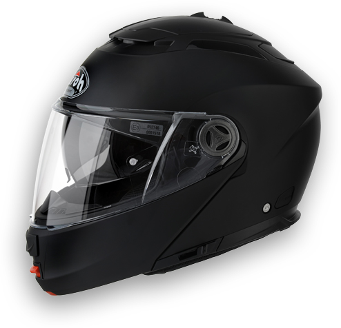 Casco apribile Airoh Phantom Color nero opaco omol.P-J