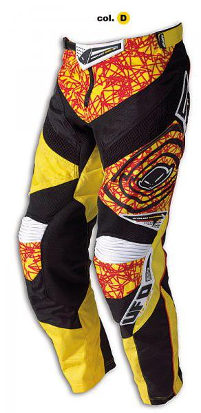 Pantaloni cross Ufo Plast Mx-22 gialli