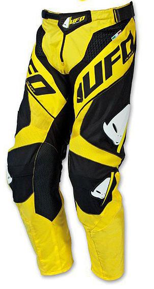 Misty Yellow Pants UFO Pants cross