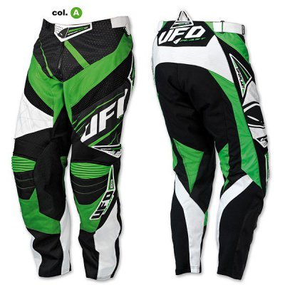 Pantaloni cross UFO MX-23 Micron Pants Verde