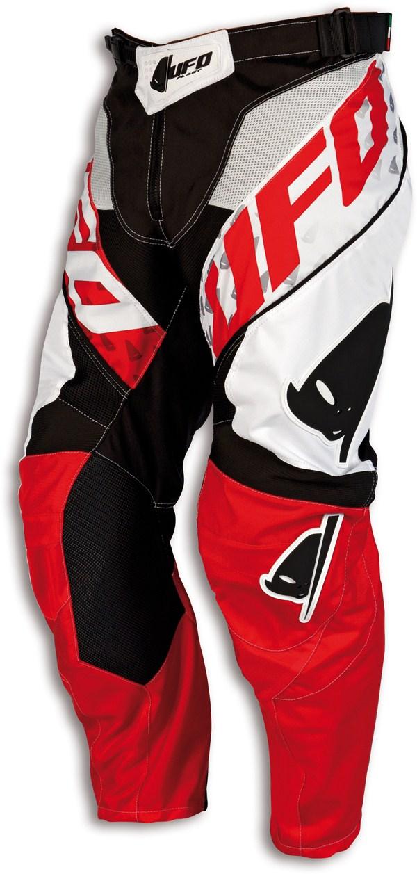 UFO Pants cross Misty White Black Red