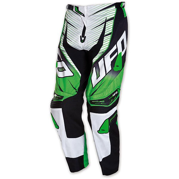 Ufo Plast Voltage cross trousers Green White