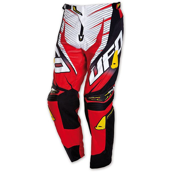 Ufo Plast Voltage cross trousers Red White