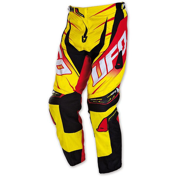 Ufo Plast Voltage cross trousers Yellow Red