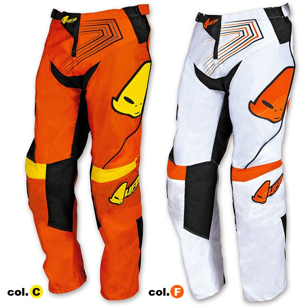 Ufo Plast Iconic cress kid trousers Orange White