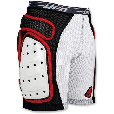 Shorts with side shields rigid intimate UFO Red