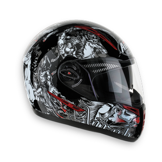 AIROH Pit One XR Power Full Face Helmet