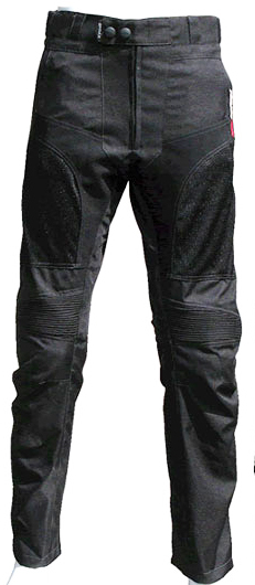 Befast Zero summer motorcycle pants black