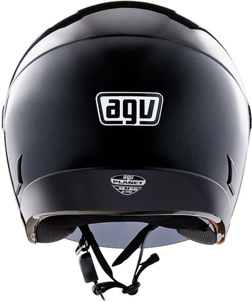 AgvPlanet mono jet helmet gloss black