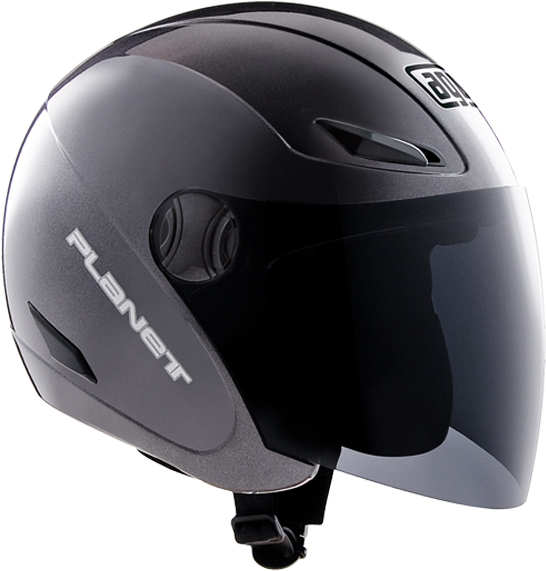 AgvPlanet mono jet helmet gunmetal