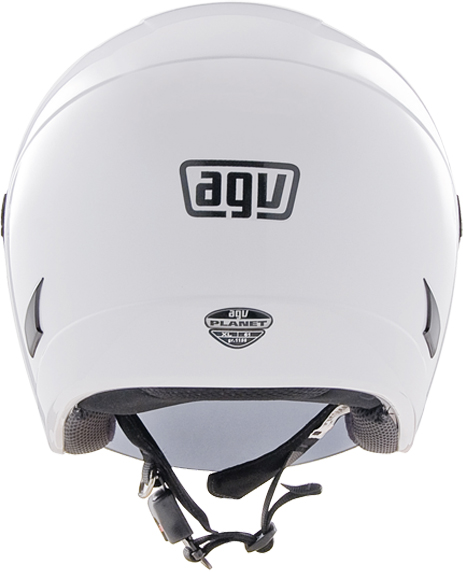 Casco moto Agv Planet Mono bianco