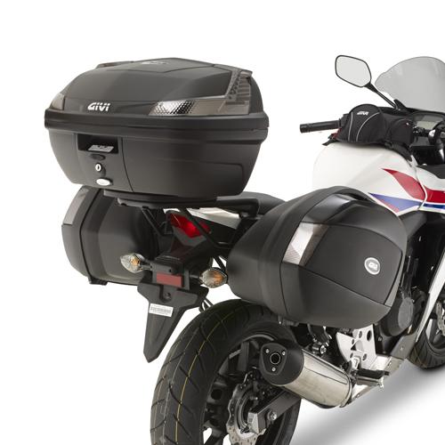 Specific Givi side case holder for Honda