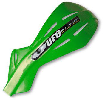 Ufo couple replacement plastics for Alu handguards Green