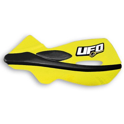 Ufo Patrol cuople replacement plastics for handguards Yellow